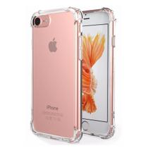 Capa Iphone 6/6s Com Bordas Anti Impacto Transparente - Hrebos
