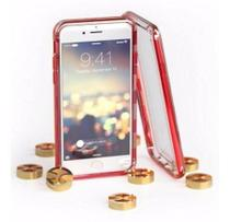 Capa iPhone 6 Plus /6s Plus / 7 Plus / 8 Plus Gatche Red - Proktel