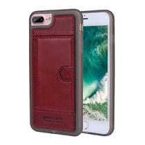 Capa Iphone 7/8 Plus 100 Original Pierre Cardin Couro Premium