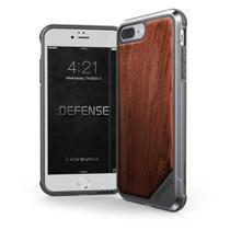 Capa Iphone 7/8 Plus X-Doria Defense Lux Madeira Military Grade Drop Capa Proteção em Alumínio Premium -
