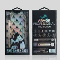 Capa Iphone X XS Anti Impacto Kink Kong Armor - Crystal Clear - Atouchbo