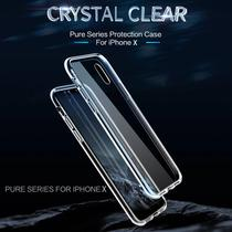Capa Iphone XS X 5.8 Rock Pure Crystal Clear