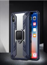 Capa Keysion Ring Armor iPhone 11 Pro Max - Azul - Oem