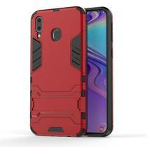 Capa Kickstand Armor Samsung Galaxy M30 - Vermelho - Hardcase