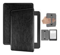 Capa Kindle 10ª geração com iluminação embutida  Auto Hibernação  Fecho Magnético  Alça Preta - Fullmosa