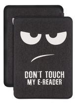 Capa Kindle 10ª geração com iluminação embutida  Auto Hibernação  Fecho Magnético  Don't Touch - Fullmosa