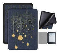Capa Kindle 10ª geração com iluminação embutida Auto Hibernação Fecho Magnético - Silicone Lâmpadas - Fullmosa
