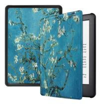 Capa Kindle Paperwhite 10ª geração à prova d'água - Hibernação - Fechamento magnético - Apricot - Fullmosa