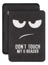 Capa Kindle Paperwhite 10ª geração à prova d'água - HIbernação - Fechamento magnético - Don't Touch - Fullmosa
