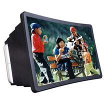 Capa lente suporte tela amplificadora para celular efeito 3d transforma smartphone em tv e amplia - SLU TECH