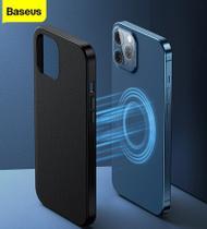 Capa Magnetica MagSafe Couro Iphone 12 Pro / Pro Max Baseus -