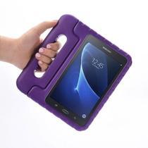 "Capa Maleta Infantil Para Tablet Samsung Galaxy Tab3 7"" SM-T110 / T111 / T113 / T116 + Película de Vidro - Lka"
