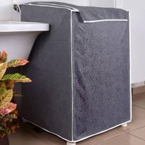 Capa Maquina de Lavar Eletrolux Cinza 10 kg a 11,5 kg - Charme Do Detalhe