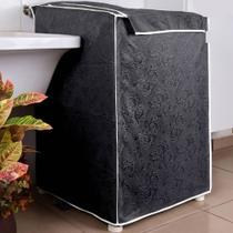 Capa Maquina de Lavar Eletrolux Grafite 12 kg a 16 kg - Charme Do Detalhe