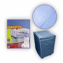 Capa Máquina de Lavar Roupas Eletrolux 8 12 15 e 16kg Consul Proteção Lavanderia Casa - Loja Catarinense