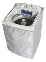 Capa Maquina Lavar Electrolux 11 12 13 15 16 17 Kg Zíper Transparente - VIP CAPAS