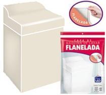 Capa Maquina Lavar Grossa Consul Brastemp Flanelada Tam G - Plastleo
