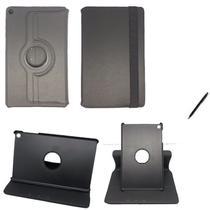"""Capa Novo iPad 7 Geração 10.2"""" 360 / Caneta - Preto - Global Cases"""