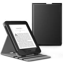Capa Novo Kindle Paperwhite a prova Dágua WB  Premium Vertical Auto Hibernação - Preta -