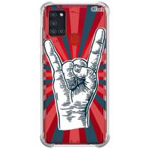 Capa p/ galaxy a21s (1110) rock n roll 4 - Quarkcase