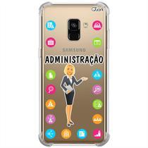Capa p/ galaxy a8 plus 2018 (1389) administração feminino - Quarkcase