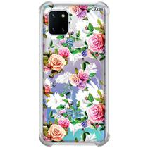 Capa p/ galaxy note 10 lite (0969) rosas coloridas 2 - Quarkcase