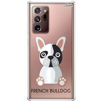 Capa p/ galaxy note 20 ultra (0786) bulldog francês - Quarkcase