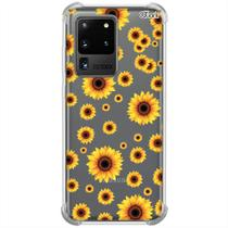Capa p/ galaxy s20 ultra (0122) flor luz do sol - Quarkcase