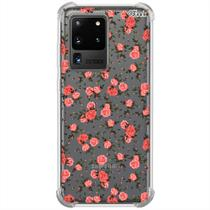 Capa p/ galaxy s20 ultra (1057) flores ornamental - Quarkcase