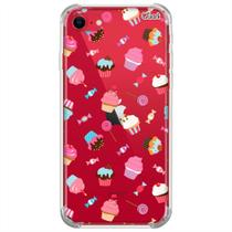 Capa p/ iphone se 2020 (0958) cupcakes - Quarkcase