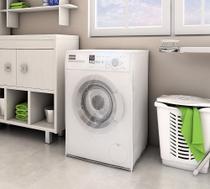 Capa P/ Máquina de Lavar C/ Abertura Frontal - 7Kg a 10Kg - Adomes -