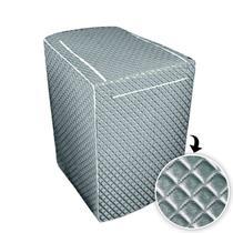 Capa p/ maquina de lavar glamour 10 a 11,5 kg -electrolux - Biazon Decor