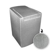 Capa p/ maquina de lavar gloss 12 a 16 kg - consul grafite - Biazon Decor
