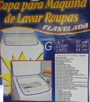 Capa p/ maquina de lavar reforcada grande - perfetto -