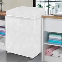 Capa p/ maquina de lavar roupas tam m diversos modelos - Vida Pratika