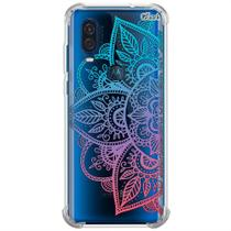 Capa p/ moto one vision (0914) mandala colorida - Quarkcase