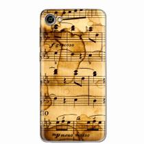 Capa para Alcatel A5 LED Partitura Musical 01 - Quero case