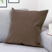 Capa para Almofada Basic Liso Café - Shelter -