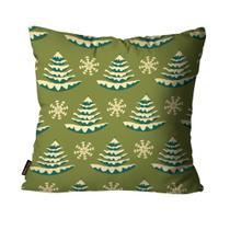 Capa para Almofada Mdecore Natal Arvore de Natal Verde -