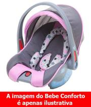 Capa para Bebe Conforto Reverse Cosco Rosa ORIGINAL - Dorel