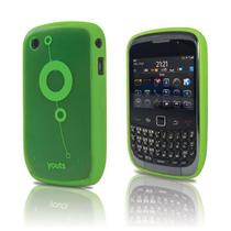 Capa para Blackberry Curve 8500 e 9300 Youts Procase Air Verde -