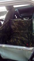 Capa Para Carros- Camuflada - P - Com Cinto De Segurança - King Of Pets