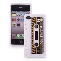 Capa para celular iphone 4 divertida - Fita k7 - Uatt
