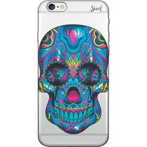 Capa para Celular LG K10 Power - Spark Cases - Caveira Mexicana