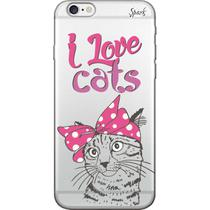 Capa para Celular Motorola Moto G4 Play - Spark Cases - I Love Cats