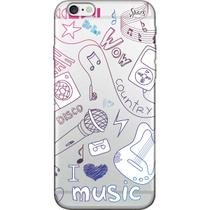 Capa para Celular Motorola Moto G5 Plus - Spark Cases - I Love Music