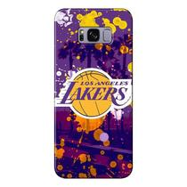 Capa para Celular NBA - Samsung Galaxy S8 G950 - Los Angeles Lakers - F03