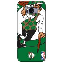 Capa para Celular NBA - Samsung Galaxy S8 Plus G955 - Boston Celtics - D02