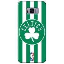 Capa para Celular NBA - Samsung Galaxy S8 Plus G955 - Boston Celtics - E21