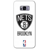 Capa para Celular NBA - Samsung Galaxy S8 Plus G955 - Brooklyn Nets - A03